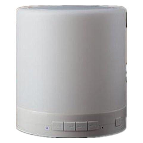 FYN Alarm Clock Bluetooth Haut-parleur chevet intelligente éclairage LED veilleuses