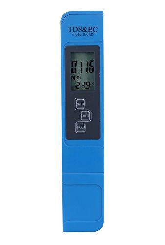 niceEshop(TM) Aquarium Wasser Test Meter Professional 3-in-1 Multifunktions TDS EC & Temperatur Testing Meter Kit