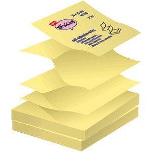 staples-haftnotizen-z-notes-12x100-bl-gelb-76x76mm-12blocke