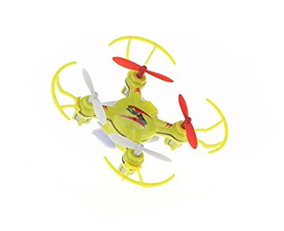 efaso Mini Quadcopter WL Toys V646 - Lightning Bird - 4-Kanal, 2,4 GHz Mini-Quadrocopter mit Propellerschutz (farblich sortiert)