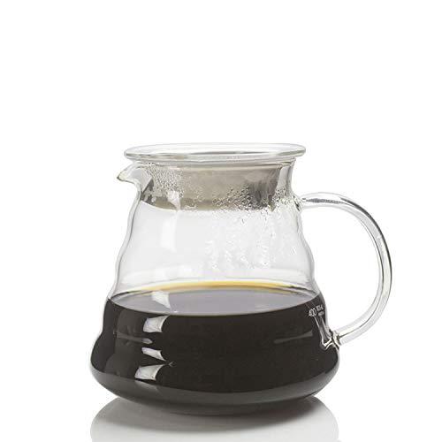 YXXHM- Cloud Pot, hitzebeständiges Glas Sharing Pot, Home Coffee Pot, Handwaschtopf, Set Pot, 600 ml