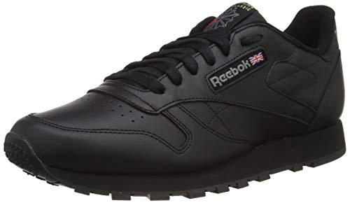 Reebok Classic Leather - Zapatillas de cuero para hombre, color negro int-black, talla 43