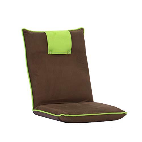Baumwoll-wohnzimmer-stuhl (Bodenstuhl Boden Sofa Gaming Stühle Faltbare Multifunktions Super Bequeme Baumwolle Und Leinen Boden Stuhl Für Wohnzimmer Schlafzimmer (Farbe : Style3))