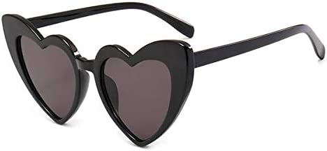 Imported Love Heart Shaped Designer Sunglasses Women Vintage Cat Eye Mod Style Retro Glasses