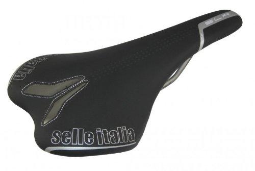 SELLE ITALIA Sattel SLR TT atmungsaktives Leder schwarz -
