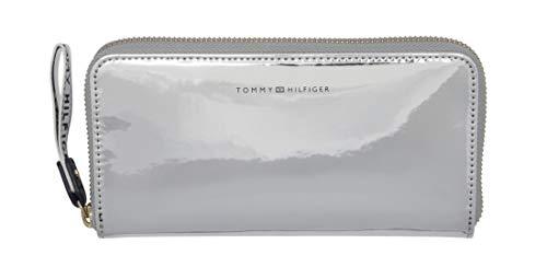 Tommy Hilfiger Iconic Zip Around Wallet Metallic