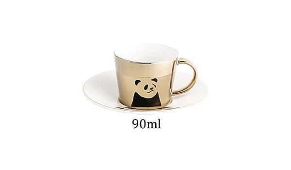 90ml Creative Reflection cup cartoon PandaTigerDeerHorse