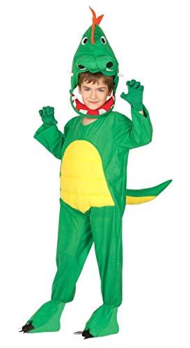 Enter-Deal-Berlin Kinder Unisex Tierkostüm Dinosaurier Größe 125-135 cm ( 7-9 Jahre ) grün