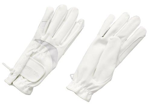Harry Hall Domy Wildleder-Handschuh weiß xl