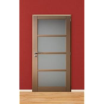 Bloc Porte Interieur Huisserie De  En Hetre Vitre Largeur  Cm