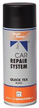 CAR REPAIR Pintura Texturizada Quick Tex Spray 400 ML - Negro