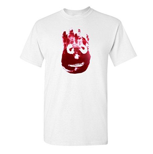 zappatee Wilson T Shirt–Herren Cast Away Tee Gr. X-Large, weiß