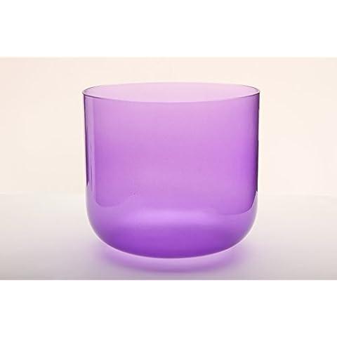 Trasparente Colore Viola A # Pineal campana di cristallo Chakra 20cm