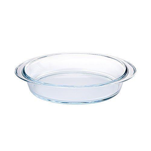 Pyrex 4936924 Plat Ovale Collection Verre Transparent 39 x 27 cm