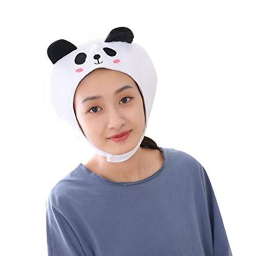 Plüsch Kostüm Panda - Amosfun Gefüllte Panda Hut weichem plüsch Panda Cap Tier Stirnband für Kinder Kinder Erwachsene Party kostüm