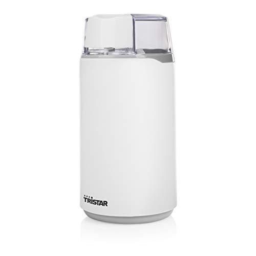 Tristar KM-2271 Molinillo de café eléctrico, 200 W, Blanco