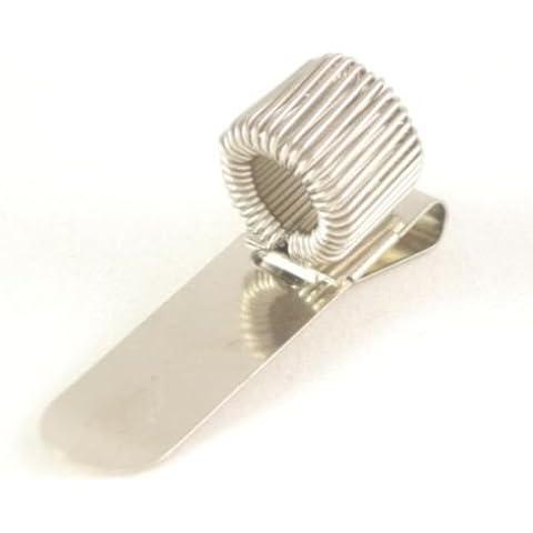 In acciaio inox tasca penna clip supporto per 1penna. Per Infermieri, Medici, polizia