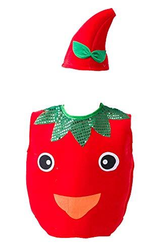 Black Temptation Halloween Kinderbekleidung Obst und Gemüse Kostüme, Apple