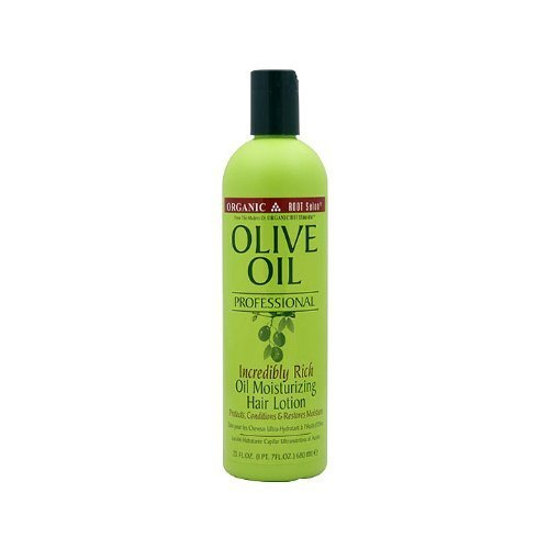 Organic Root Stimulator Olive Oil Incredibly Rich Oil Moisturizing Hair Lotion, 23 Ounce by Organic Root Stimulator (English Manual)