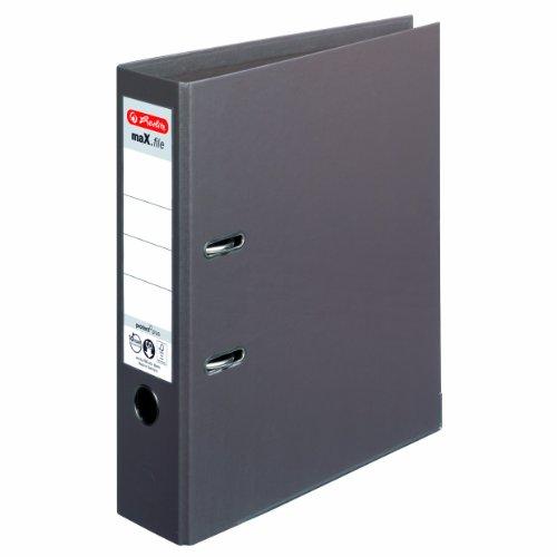 Preisvergleich Produktbild Herlitz 10834463 Ordner maX.file protect+ (A4, 8 cm) braun