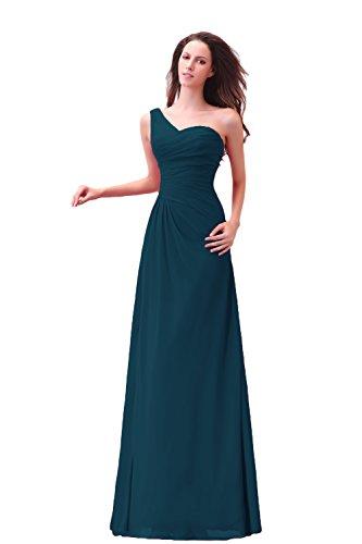 Bridal_Mall - Robe - Sans Manche - Femme Vert - Vert foncé