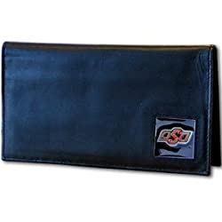 NCAA Oklahoma State Cowboys  Leather Checkbook Cover