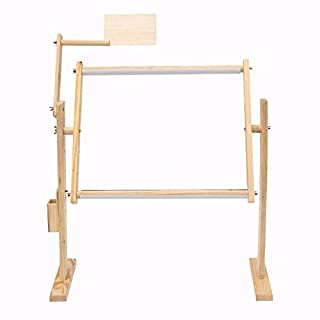 TOOGOO Adjustment Solid Wooden Frames Tabletop Crossstitch Embroidery Floor Stand For Needlework Sewing Handmade Tools Cross Stitch Bracket