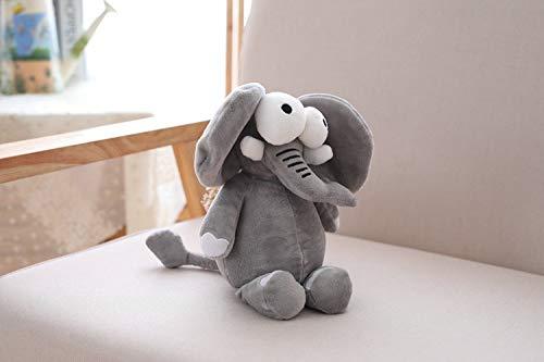 ahzha Serie Animal Del Bosque Pequeña Muñeca Juguetes De Felpa León Elefante Elefante Muñeca Boda Regalo De Boda 30cm C -