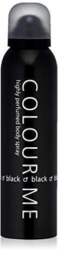 milton-lloyd couleur Noir Me Spray Corporel, 150 ml