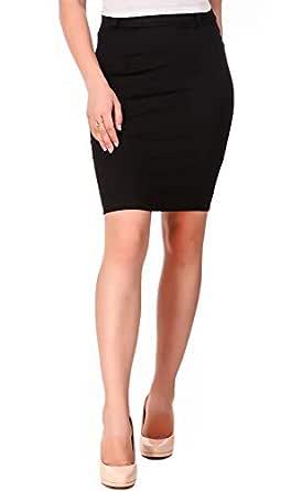 Fasnoya Womens' Stretchable Pencil Skirt