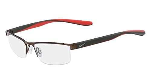 Nike Herren Brillengestelle 8173 215 52, Satin Walnut