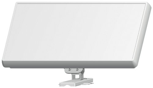 SELFSAT H21D4 Digitale SAT-Flachantenne, Quad LNB, für 4 Sat-Receiver