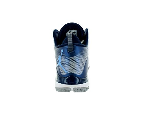 Nike Jordan Super.fly 3, bout fermé homme White/University Blue-midnight Navy