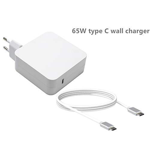 SiKER 65W Adaptador Corriente USB C Compatible Cargador