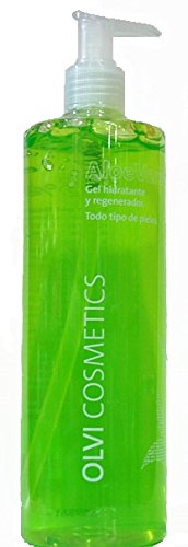 Gel Aloe Vera 99% con Urea y Alantoina 500ml - Ideal Postdepilacion.
