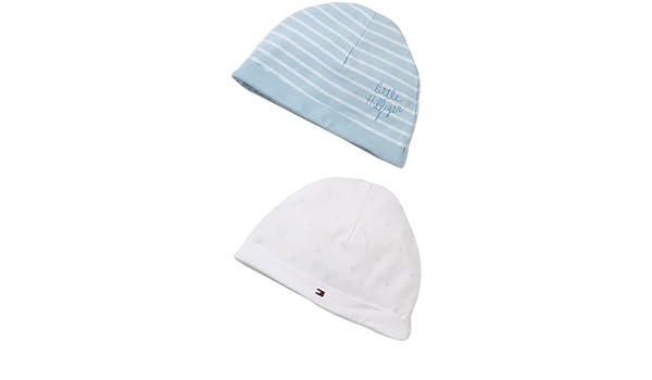 2070bc3be32 Tommy Hilfiger Baby Boys Hat - Blue - Blau (482 BABY BLUE) - One size (Brand  size  one size)  Amazon.co.uk  Clothing
