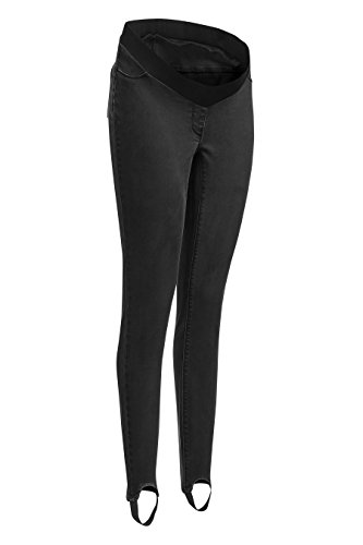 next Donna Leggings Premaman Di Jeans Con Staffa Nero EU 36 Regular