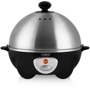 Egg Cooker and Poacher Stainless Steel - Add a little