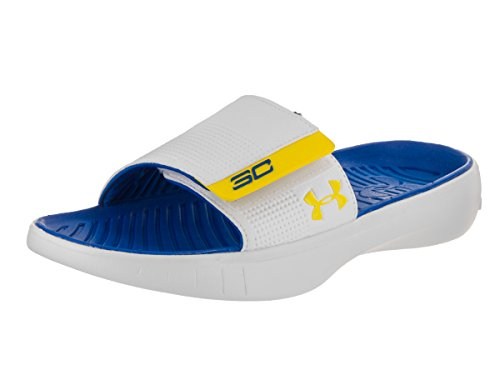 Under Armour UA Curry 3 Slides Bleu
