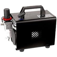 Compresor de aerógrafo Original Fengda FD-18A / regulador de presión / 4 bar / parada automática