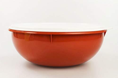 TUPPERWARE PENG XXL Rührschüssel 6,0 L terrakotta Schüssel Salatbar Maxima Salat 33202