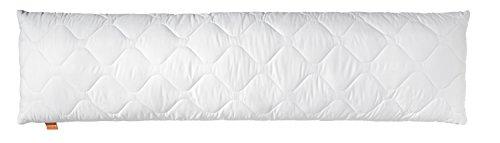 *sleepling 190110 Komfort 100 Seitenschläferkissen Mikrofaser 40 x 145 cm, weiß*