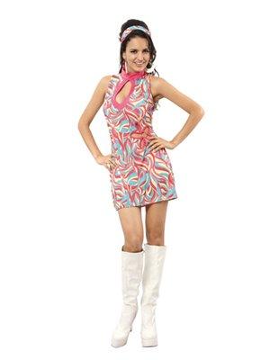 Kostüm Sexy GoGo Girl Jeannie Gr. M Schlagermove Boland 87166 (Halloween-kostüm Girl Gogo)