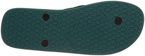 O'Neill - Fm Profile Pattern Flip Flops, Scarpe da Spiaggia e Piscina Uomo Grün (Green Allover Print)