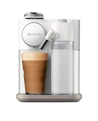 De\'Longhi Nespresso Gran Lattissima EN650.W Kapselmaschine, Kaffeemaschine mit Milchaufschäumer, für 6 Kaffee-Milchgetränke per Fingertip, 36,7 x 20,3 x 27,6 cm, weiß