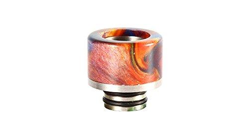 Segeln Kunstharz + Edelstahl Hybrid 510Drip Tip 15mm/zufällige Farben