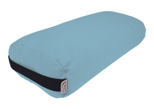 Bean Products Bolster Rectangle Yoga & Meditation Cushion - Made In The USA Periwinkle Duck by Bean Products