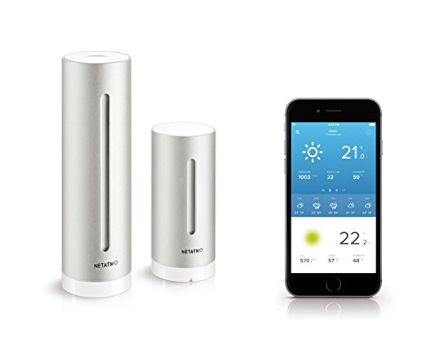 Netatmo Wetterstation für Apple iPhone und Android thumbnail