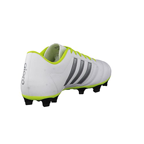 adidas Gloro 16.2 FG, Scarpe da Ginnastica Uomo Blanco / Verde (Ftwbla / Nocmét / Seliso)