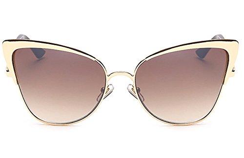 kussen-u-frau-strasse-mode-metall-polarisiert-katzenauge-flaches-objektiv-glasur-sonnenbrille-braun